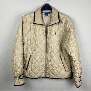 Ralph Lauren Sport XL quilted puffer jacket